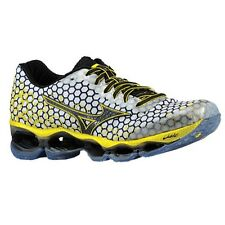 MIZUNO Wave Prophecy 3 Mens Running Shoes White Black Yellow - MANY SIZES