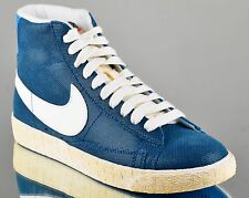 Nike WMNS Blazer Mid Suede VNTG women lifestyle casual sneakers NEW blue force