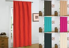 Thermal Coated Heavy Weight Door Curtain / Panel Embossed Ideal Energy Saver