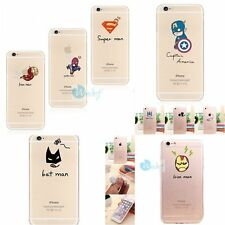 0.3mm ULTRA THIN Avenge Rubber Gel Soft Cover Skin Case For iPhone 5s 6 6s 6PLUS