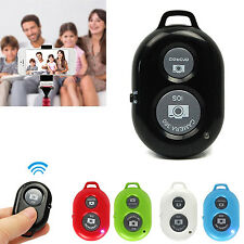 Wireless Bluetooth SELFIE Camera Remote Control Shutter For Samsung iPhone Phone