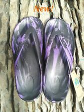 Black/Purple STARFISH Thongs from Aussie Soles very comfortable arch support