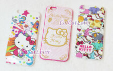 cute glossy pink Hello Kitty Family soft rubber thin case cover iPhone 6/6s plus
