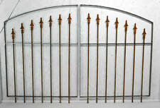 Wrought Iron 5' Center Divide Gate - Choose From Several Heights