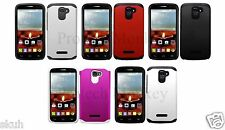 Fusion Tuff Hybrid Dual Layer Case Shockproof Cell Phone Protector Box Cover
