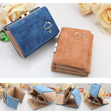 Women Fashion Leather Wallet Button Clutch Purse Lady Small Handbag Bag New