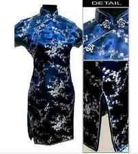 2015,10 color Sale Chinese Flower Mini Cheongsam Evening Dress WMD