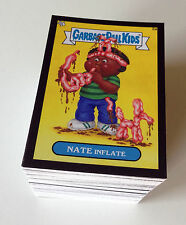 2013 Garbage Pail Kids Mini - Pick Your Own - Black Mini Cards #48ab - 147ab