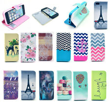 magnetic flip pu leather stand wallet case cover pouch for apple iPhone 5 5S/ SE