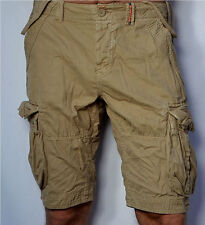 SUPERDRY Men's - NEW CORE LITE - Military Cargo Shorts - Sand