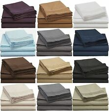 1800 Premier Ultra Soft Brushed Microfiber 4 piece Sheet Set Full Queen King