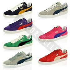 Mens Boys Puma Suede Leather Classic Skate Sport Trainers Shoes Size