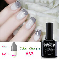 10ml Temperature Change Color Gel Nail Polish UV Soak Off Nail Art Lacquer Tips