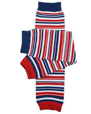 Boys Sailor Stripe Leg Warmers Newborn Infant & Baby Toddler Sizes Navy Blue Red
