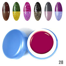 6pcs/Lot Temperature Change Color Gel Nail Polish UV Manicure Fashion new Kits