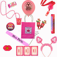 Pre Filled Hen Night Party Do Personalised Girls Gift Bag Bridesmaid **17 ITEMS*