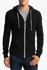 New Plain Mens Hoodie Fleece Zip Up Hoody Jacket Sweatshirt Hooded Zipper Top