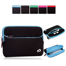 KroO Washable Soft Protective Zipper Sleeve Cover fits 7 inch Tablets MIG2-4