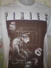THE PIXIES DOOLITTLE GREY TSHIRT  breeders amps black francis ALL SIZES