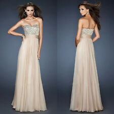 2015 Sexy Evening Party Ball Prom Gown Formal Bridesmaid Cocktail Lace Dress