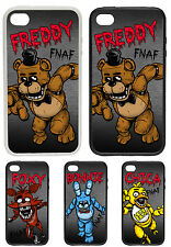 Five Nights at Freddy's Characters Printed Rubber and Plastic Phone Cover FNAF