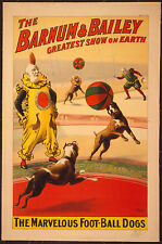 Photo Print Vintage Poster: Barnham Bailey Greatest Show On Earth 27