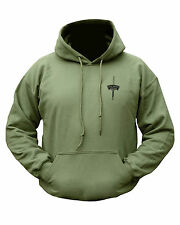 British Army Royal Marines Commando Style Double Printed Hoodie Sweat Shirt