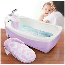 Baby Whirlpool Spa Infant Bath Tub Toddler Shower Water Bubbling Bathtub Jets