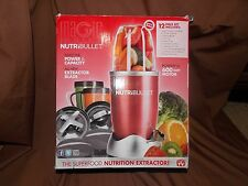 Nutri bullet 600 Watt 12 pieces, open box, new