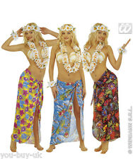 Ladies Hawaiian Skirt Costume Hawaiian Sarong Summer Beach Party Fancy Dress