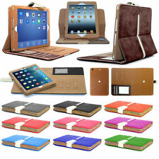 Genuine GT Luxury Suede Leather Smart Flip Wallet Case Cover  for iPad Air Air 2