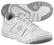 WILSON PRO STAFF II WOMENS WHITE SILVER TENNIS SHOES SIZE 6 10 MEDIUM NIB $80