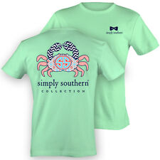 Simply Southern Tees Crab Short Sleeve Mint