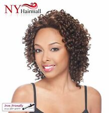 It's a wig Futura Synthetic Lace Front Wig - Lace Spiral Curl