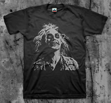 BEETLEJUICE - 'Face' Movie T Shirt (Classic 80's Cult Comedy Horror)