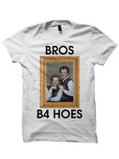Bros B4 Hoes T-Shirt Funny Shirts Witty Shirts Funny Gifts Christmas Gifts Movie