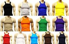 JOHNSON SQUARE CUT TANK TOP G-UNIT STYLE UNDERSHIRT WIFE BEATER SM-3X