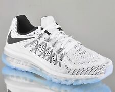 Nike Air Max 2015 men running run sneakers NEW white black