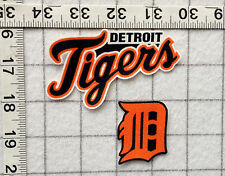 DETROIT TIGERS MLB Iron On Fabric Appliques No Sew   **NEW**  5  different sets