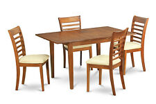 5 Piece small kitchen table set- tables and 4 Dining Room Chairs