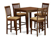 5 Piece Counter Height Table Set-Table and 4 Kitchen chairs.