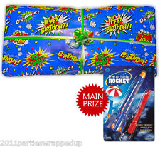 Superhero Pass the Parcel Party Game Ready Made (8 - 25 Layers)