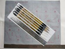 MB1 Chinese Japanese Calligraphy Brush Pen Set + Reusable Practice Paper
