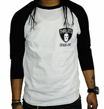 Crooks and Castles Men's Raglan Tee