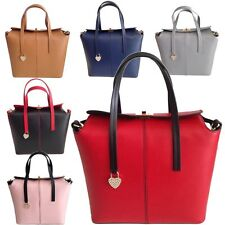 MADE IN ITALY LUXE SAC À MAIN 100% CUIR LEATHER HANDBAGS BLEU NOIR ROUGE BEIGE
