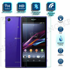 100% 9H Front + Back HD Tempered Glass Screen Protector For All Sony Xperia