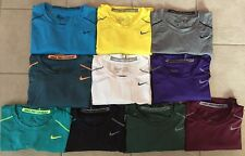 Men's Nike Pro Combat Fitted Athletic Shirts Dri-Fit