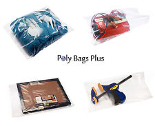 2Mil Clear Poly Bags Lay-flat Open Top LDPE Plastic Baggies