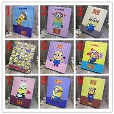 Despicable Minion PU Leather Flip Stand Cover Case for Apple ipad Mini 1 2 3