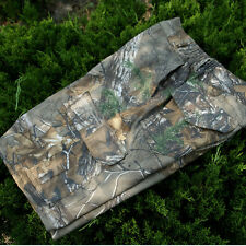 Cotton summer leaves bionic camouflage hunting outdoor camo shorts for fishig